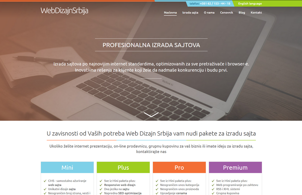 Web Design Serbia