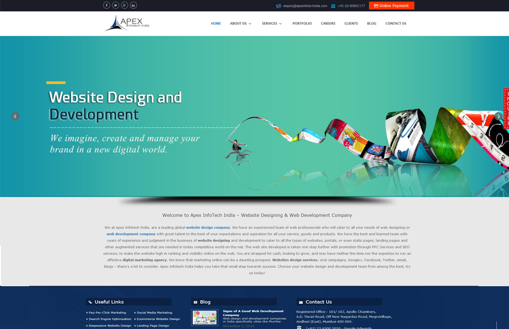 Apex Infotech India