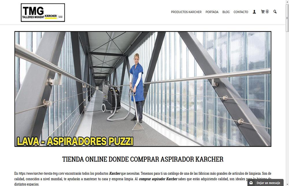 Comprar aspirador Karcher en tienda online Karcher TMG