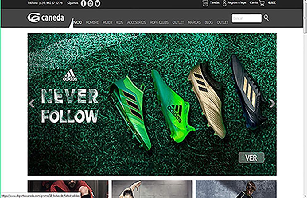 Tienda online ropa deportiva zapatillas